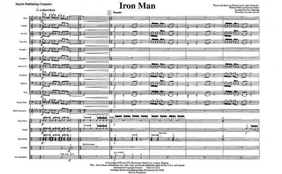 Iron Man arr