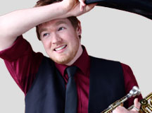 photo of Matt Dixon, trombonist and vocalist